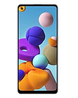 Samsung Galaxy A21s - White
