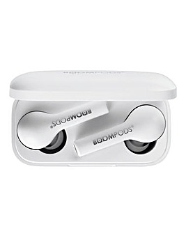 Boompods Bassline True Wireless - White