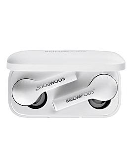 Boompods Bassline True Wireless - White