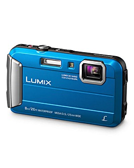 Panasonic FT30 Tough Waterpoof Camera - Blue