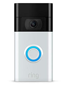Ring Video Doorbell (Gen 2) - Satin Nickel