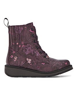 Heavenly Feet Lace Up Boot Extra Wide EEE Fit