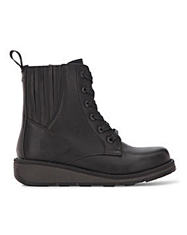 Heavenly Feet Lace Up Boot Wide E Fit