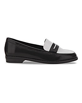 Flexi Sole Loafers Wide E Fit