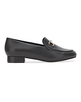 Leather Trim Loafer on Flexi Sole Extra Wide EEE Fit