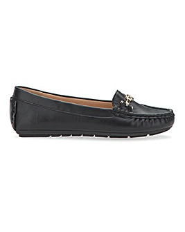 Trim And Tassel Loafers Wide E Fit