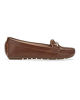 Trim And Tassel Loafers Extra Wide EEE Fit