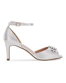 Joanna Hope Trim Detail Sandals EEE Fit