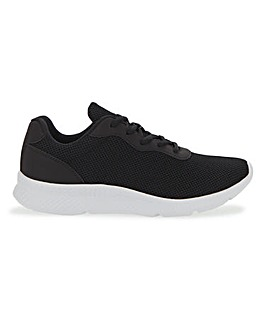 Lace Up Trainers Extra Wide EEE Fit