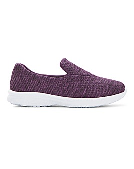 Cushion Walk Lightweight Leisure Shoes Wide E Fit