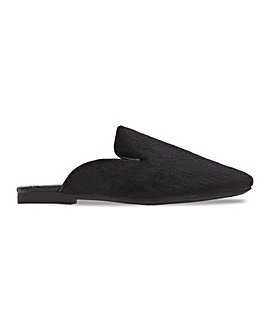 Closed Toe Mule Slippers Wide E Fit