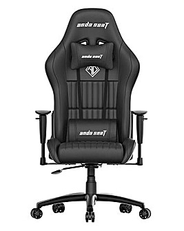 andaseaT Jungle Black Gaming Chair