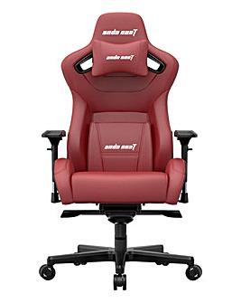 andaseaT Kaiser II Series Gaming Chair Black & Maroon