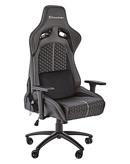 X Rocker Stinger RGB LED PC Gaming Chair