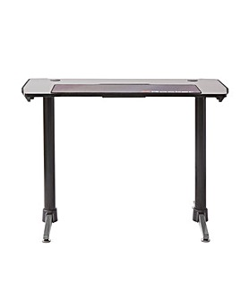 X Rocker Panther Office Desk Grey