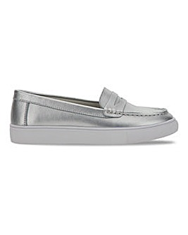 Leather Leisure Loafers Wide E Fit