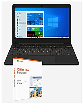 CODA 110 Thin & Light 4GB 64GB 11.6in Laptop with Office 365