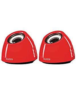 SWEEX Speaker 2.0 USB 3.5 mm 6 W