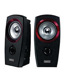 SWEEX USB Speaker 2.0 3.5 mm 2 W