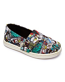 Toms Infant Alpargatas Marvel Canvas