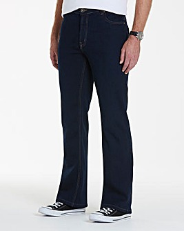 Bootcut Fit Jeans 33 in
