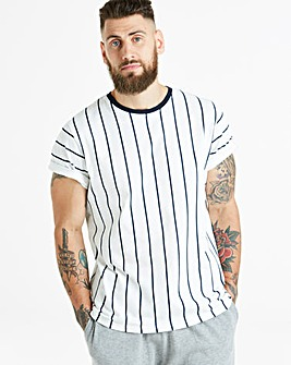 Vertical Stripe S/S T-Shirt