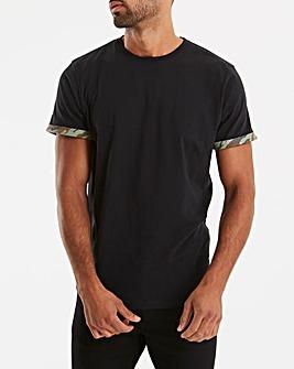 Printed Cuff T-Shirt