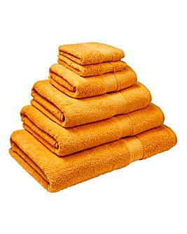 Supersoft Snuggle Towel Range- Pumpkin
