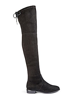 Nicole Boots Wide Fit Super Curvy Calf