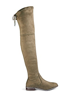 Nicole Over The Knee Boots Super Curvy Calf Wide E Fit