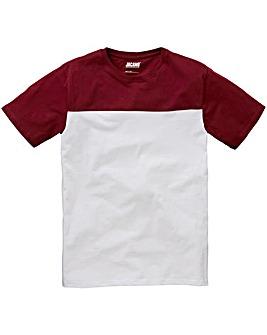Jacamo Cut and Sew T-Shirt Long