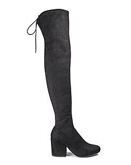 Irina Boots Ex Wide Fit Super Curvy Calf