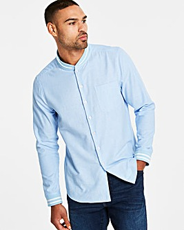 Jacamo Baseball Collar Shirt Long