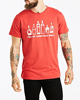 Jacamo Xmas Spirit T-Shirt Long