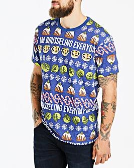 Jacamo Brussling Xmas T-Shirt Reg