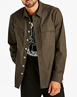 Jacamo Ripstop Overshirt Regular