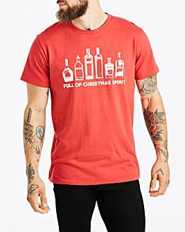 Jacamo Xmas Spirit T-Shirt Long