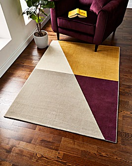 Micah Colour Block Rug Large