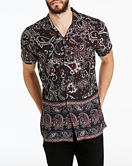 Jacamo Paisley Revere Shirt Long
