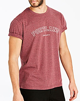 Jacamo Portland T-Shirt Long
