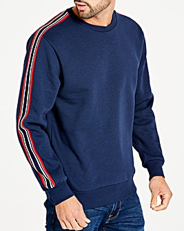 Jacamo Taped Sweatshirt Long