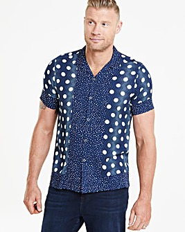 Flintoff by Jacamo Revere Collar Shirt L
