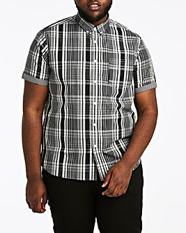 Jacamo Check Short Sleeve Shirt Regular