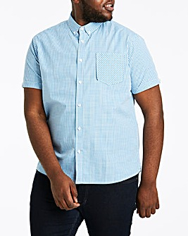 Jacamo Gingham Check S/S Shirt
