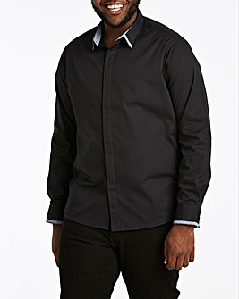 Jacamo Trim Detail L/S Shirt