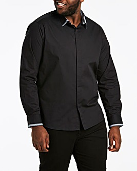 Jacamo Trim Detail L/S Shirt Long