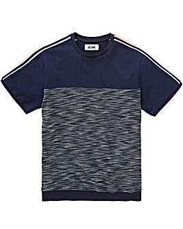 Knitted Sleeve T-Shirt