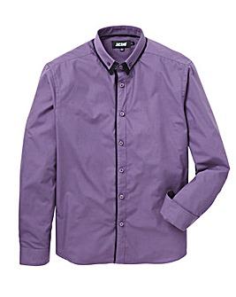 Purple Double Collar L/S Party Shirt R