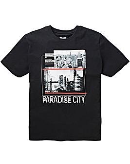 Paradise Black S/S T-Shirt R