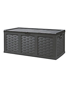 Starplast XXL Rattan Style Storage Box